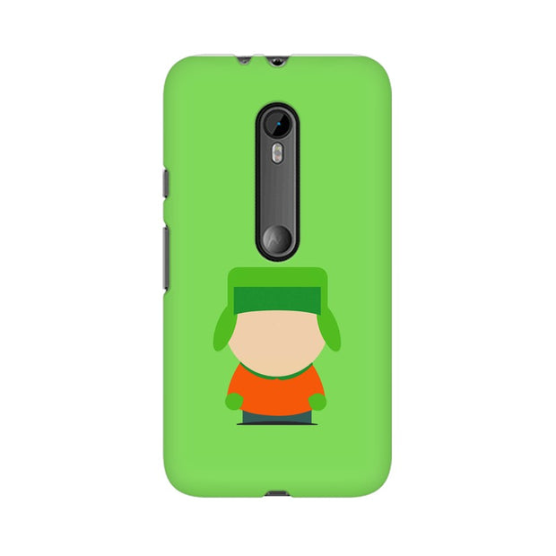 Moto G3 Kyle Broflovski Minimal South Park Phone Cover & Case