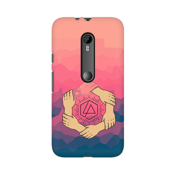 Moto G3 Linkin Park Logo Chester Tribute Phone Cover & Case