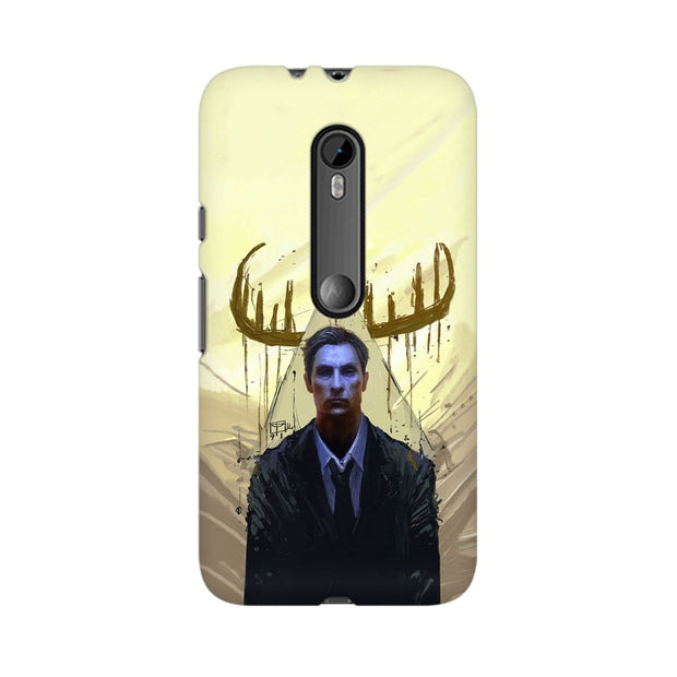 Moto G3 True Detective Rustin Fan Art Phone Cover & Case