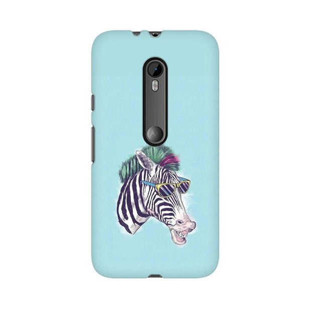Moto G3 The Zebra Style Cool Phone Cover & Case