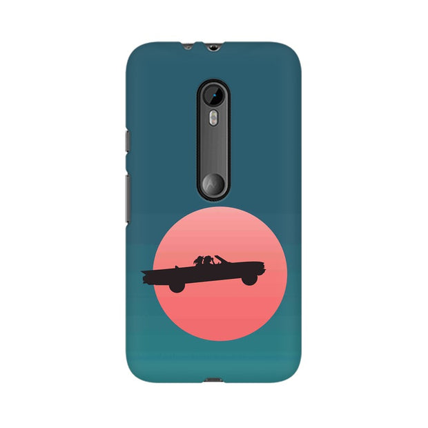 Moto G3 Thelma & Louise Movie Minimal Phone Cover & Case