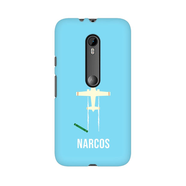 Moto G3 Narcos TV Series  Minimal Fan Art Phone Cover & Case