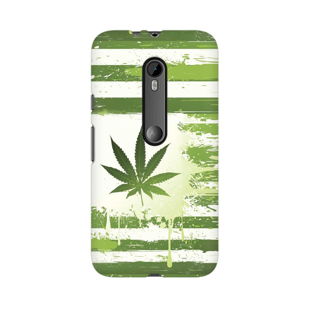 Moto G3 Weed Flag  Phone Cover & Case