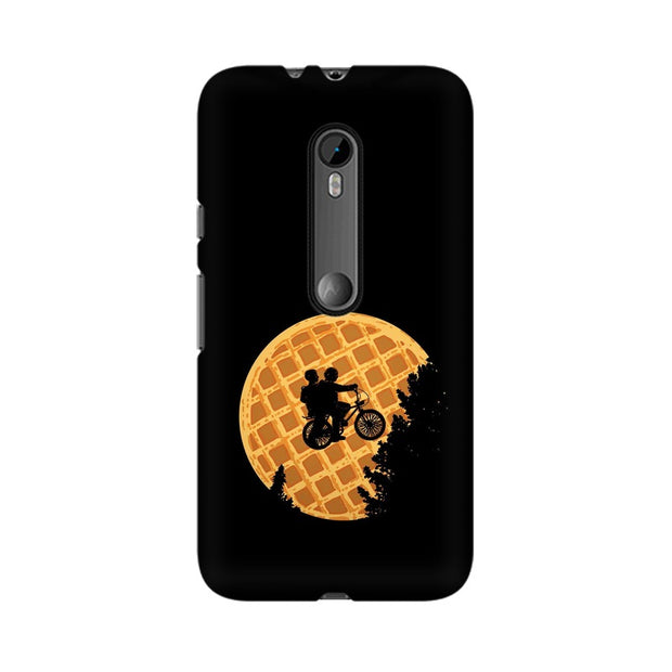 Moto G3 Stranger Things Pancake Minimal Phone Cover & Case