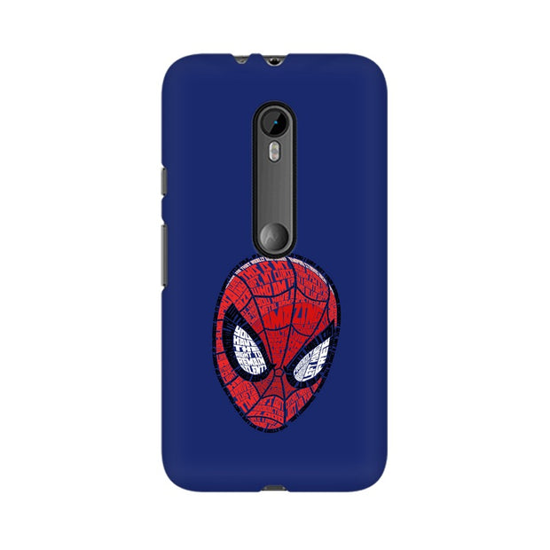 Moto G3 Spider Man Graphic Fan Art Phone Cover & Case