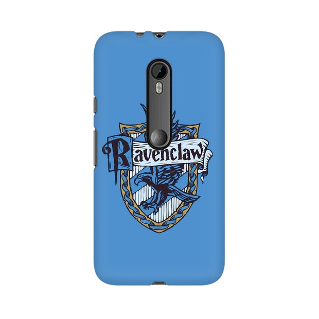 Moto G3 Ravenclaw House Crest Harry Potter Phone Cover & Case