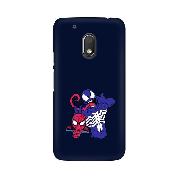 Moto G4 Play Spider Man & Venom Funny Phone Cover & Case