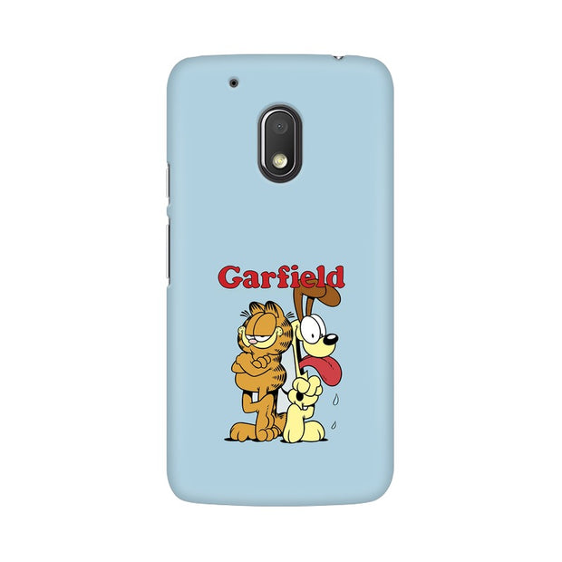 Moto G4 Play Garfield & Odie Phone Cover & Case