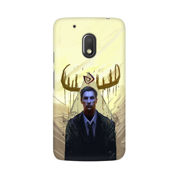 Moto G4 Play True Detective Rustin Fan Art Phone Cover & Case