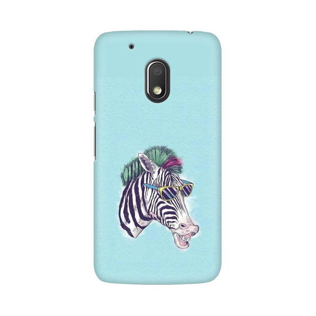 Moto G4 Play The Zebra Style Cool Phone Cover & Case