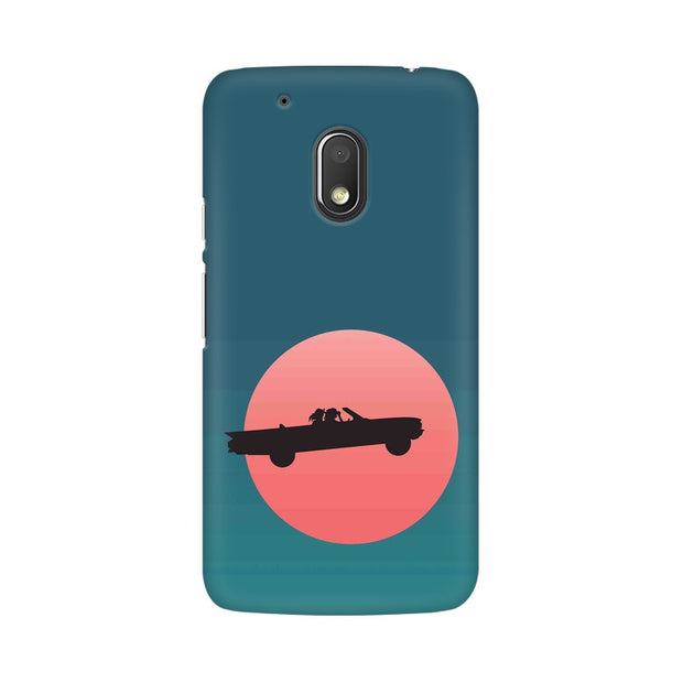 Moto G4 Play Thelma & Louise Movie Minimal Phone Cover & Case