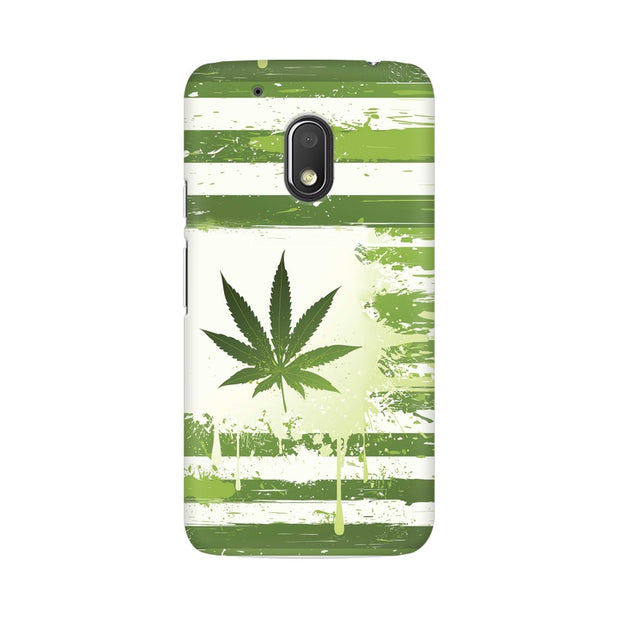 Moto G4 Play Weed Flag  Phone Cover & Case