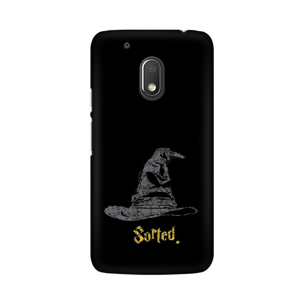 Moto G4 Play Sorting Hat Harry Potter Phone Cover & Case