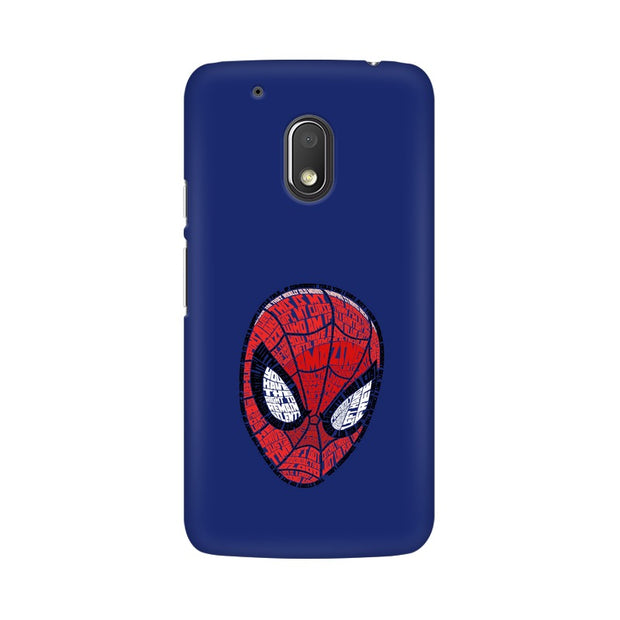 Moto G4 Play Spider Man Graphic Fan Art Phone Cover & Case