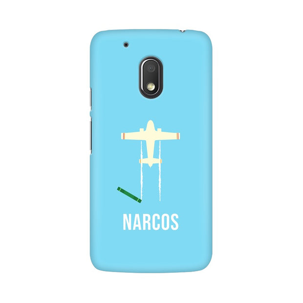 Moto G4 Play Narcos TV Series  Minimal Fan Art Phone Cover & Case
