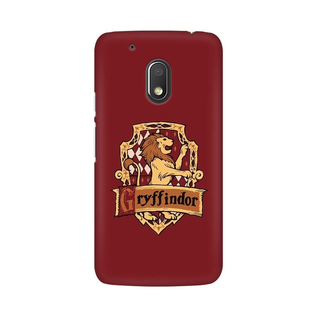 Moto G4 Play Gryffindor House Crest Harry Potter Phone Cover & Case