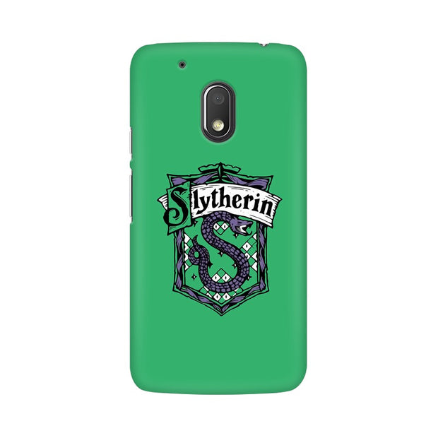 Moto G4 Play Slytherin House Crest Harry Potter Phone Cover & Case