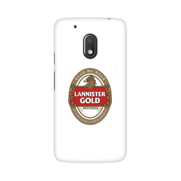 Moto G4 Play Lannister Gold Game Of Thrones Cool Phone Cover & Case