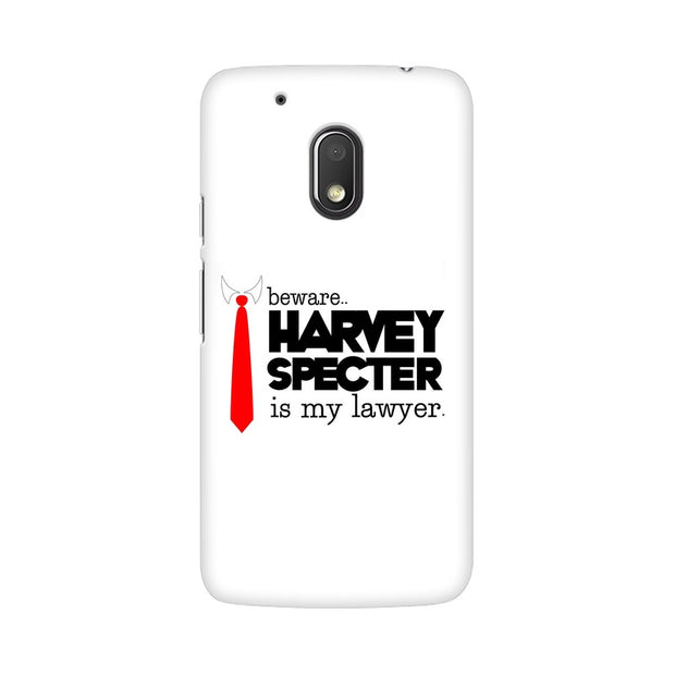 Moto G4 Play Harvey Spectre Is My Lawyer Suits Phone Cover & Case