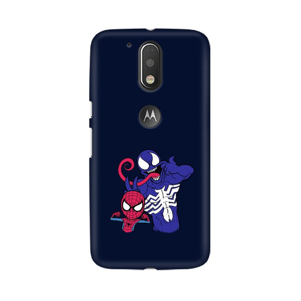 Moto G4 Spider Man & Venom Funny Phone Cover & Case