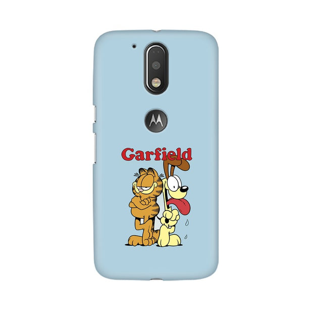 Moto G4 Garfield & Odie Phone Cover & Case