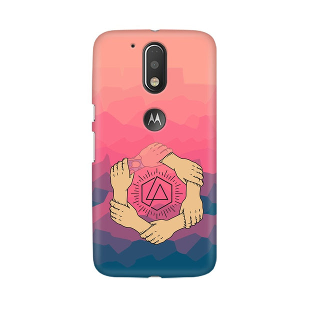 Moto G4 Linkin Park Logo Chester Tribute Phone Cover & Case