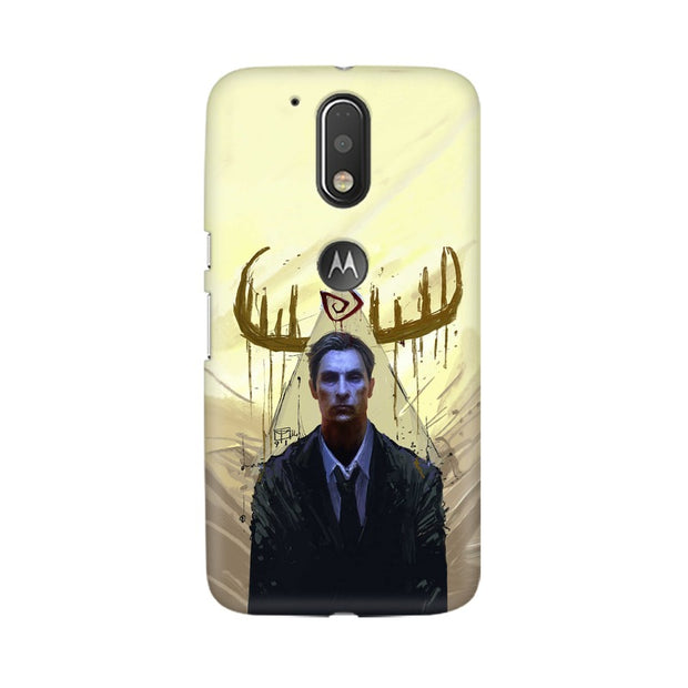 Moto G4 True Detective Rustin Fan Art Phone Cover & Case
