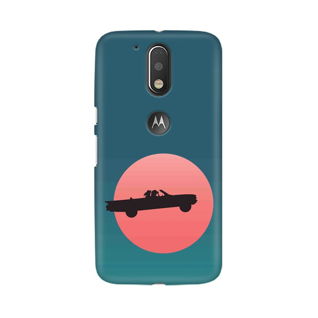 Moto G4 Thelma & Louise Movie Minimal Phone Cover & Case