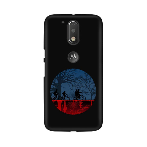 Moto G4 Stranger Things Fan Art Phone Cover & Case