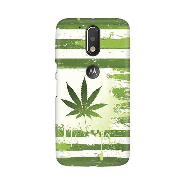 Moto G4 Weed Flag  Phone Cover & Case