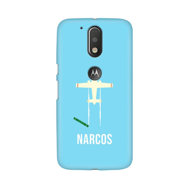 Moto G4 Narcos TV Series  Minimal Fan Art Phone Cover & Case