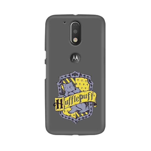 Moto G4 Hufflepuff House Crest Harry Potter Phone Cover & Case