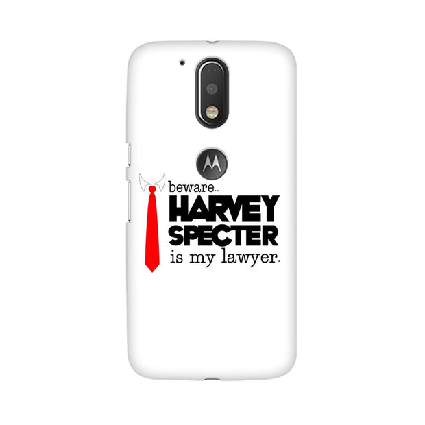 Moto G4 Harvey Spectre Is My Lawyer Suits Phone Cover & Case