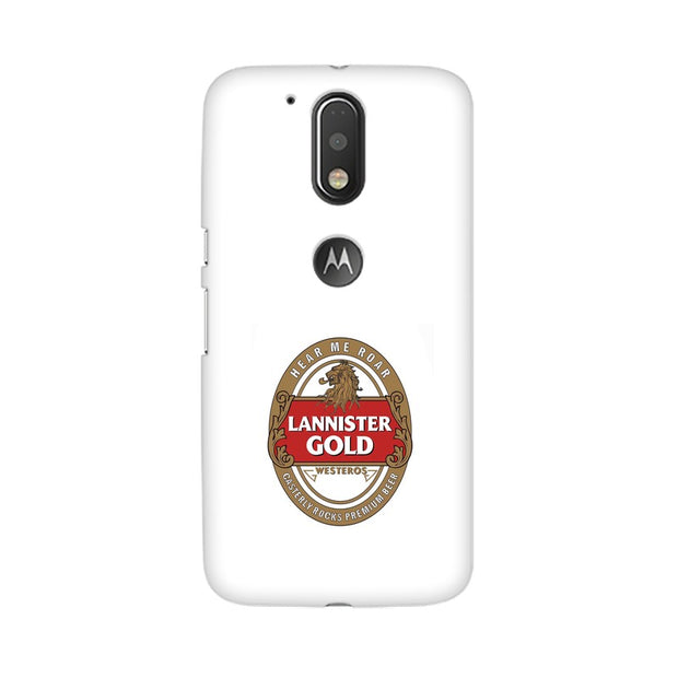 Moto G4 Lannister Gold Game Of Thrones Cool Phone Cover & Case