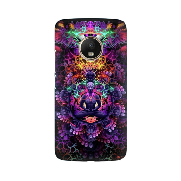 Moto G5 Plus Psychedelic Buddha Phone Cover & Case