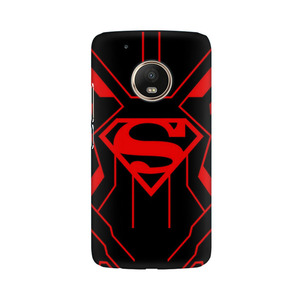 Moto G5 Plus Superman Red Phone Cover & Case