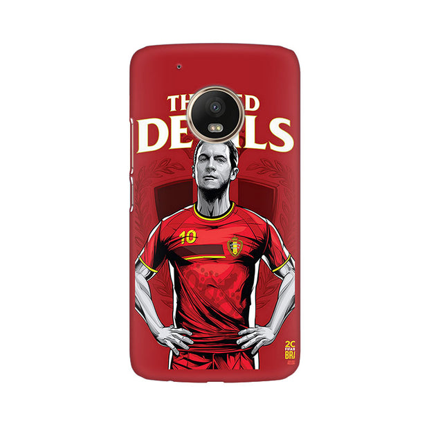 Moto G5 Plus The Red Devils Phone Cover & Case