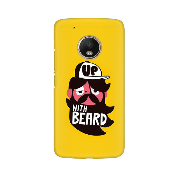 Moto G5 Plus Up With Beard Phone Cover & Case