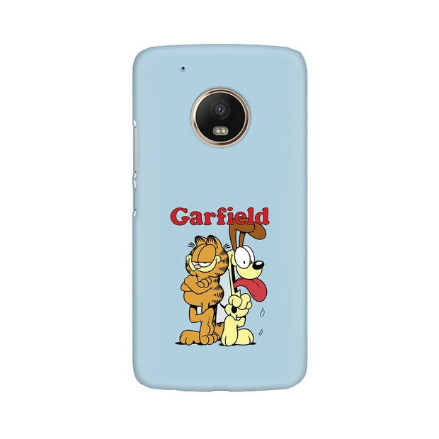 Moto G5 Plus Garfield & Odie Phone Cover & Case