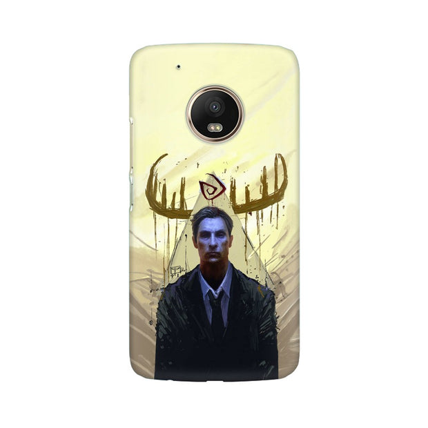 Moto G5 Plus True Detective Rustin Fan Art Phone Cover & Case