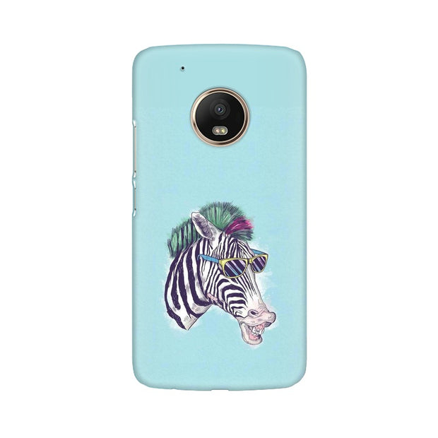 Moto G5 Plus The Zebra Style Cool Phone Cover & Case