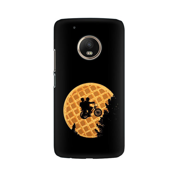 Moto G5 Plus Stranger Things Pancake Minimal Phone Cover & Case
