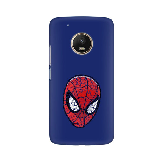 Moto G5 Plus Spider Man Graphic Fan Art Phone Cover & Case