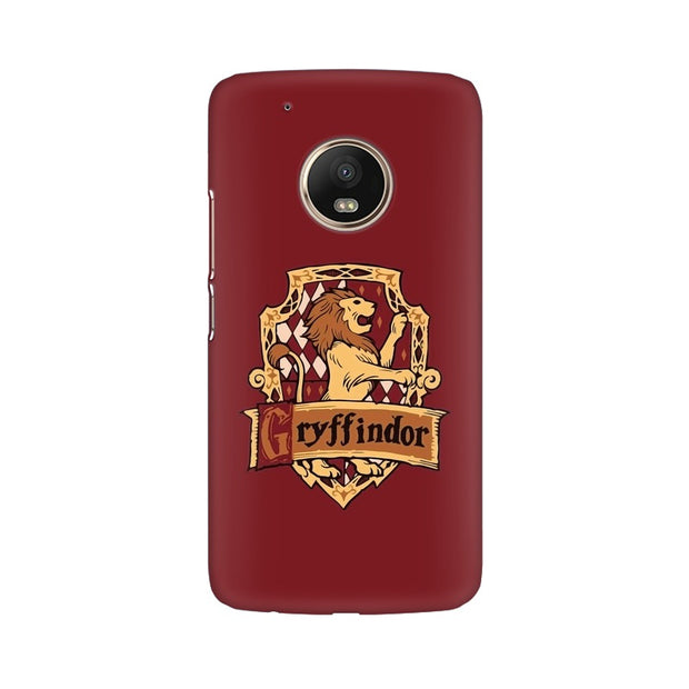 Moto G5 Plus Gryffindor House Crest Harry Potter Phone Cover & Case