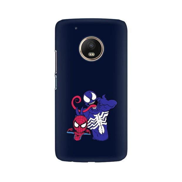 Moto G5 Spider Man & Venom Funny Phone Cover & Case
