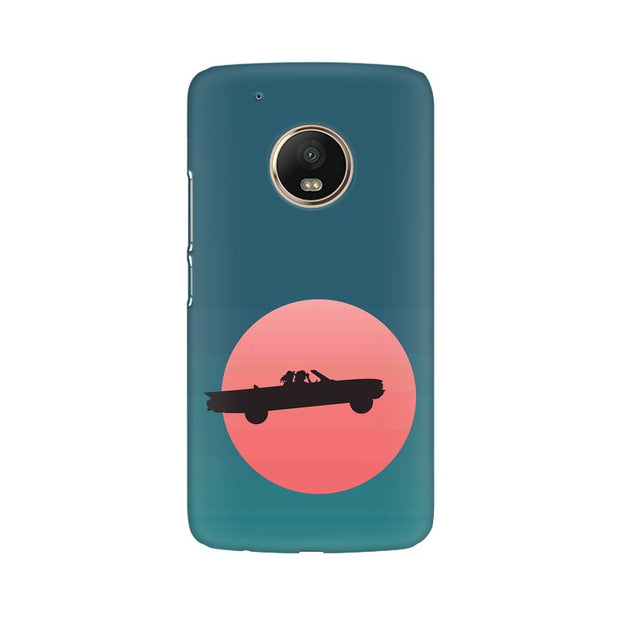 Moto G5 Thelma & Louise Movie Minimal Phone Cover & Case