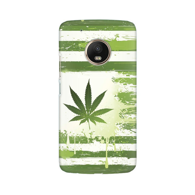 Moto G5 Weed Flag  Phone Cover & Case