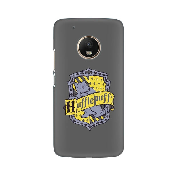 Moto G5 Hufflepuff House Crest Harry Potter Phone Cover & Case