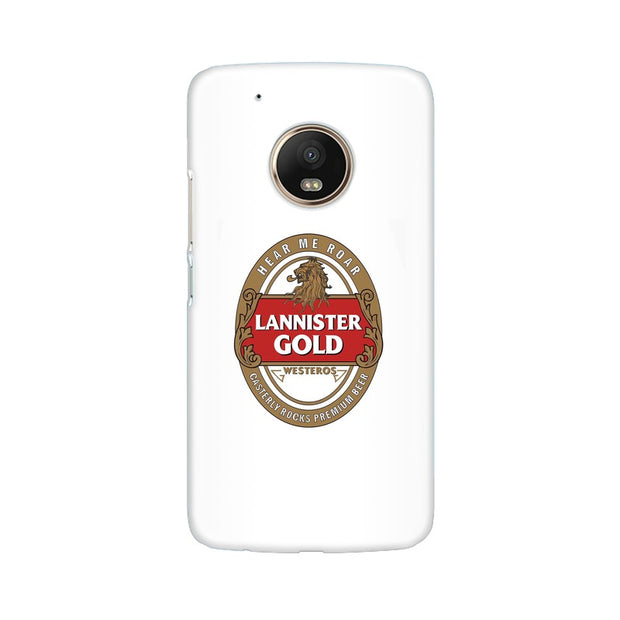 Moto G5 Lannister Gold Game Of Thrones Cool Phone Cover & Case