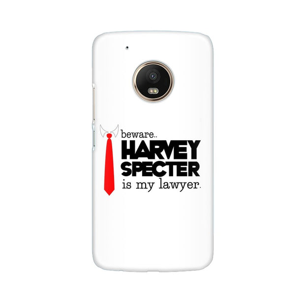 Moto G5 Harvey Spectre Is My Lawyer Suits Phone Cover & Case